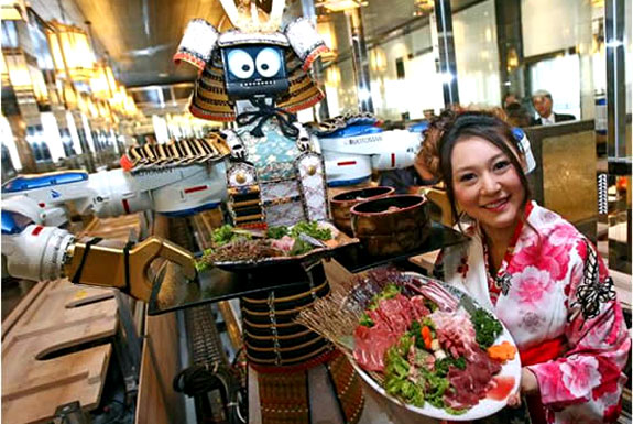 Hajime Robot Restaurant, Bangkok, Thailand