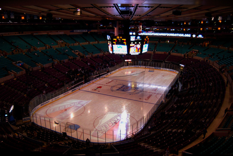 Madison Square Garden, New York, New York