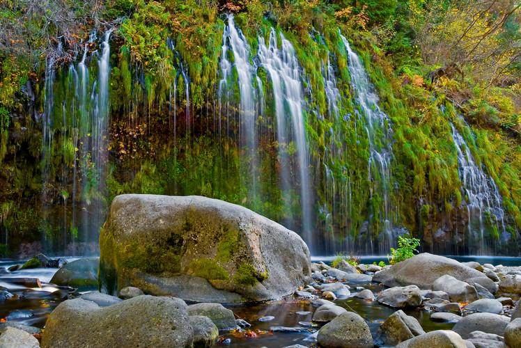 Mossbrae Falls, Dunsmuir