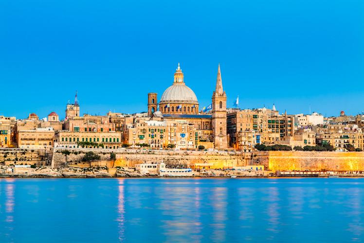 Malta, 316 sq. km