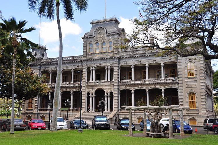 Iolani Palace, Oahu