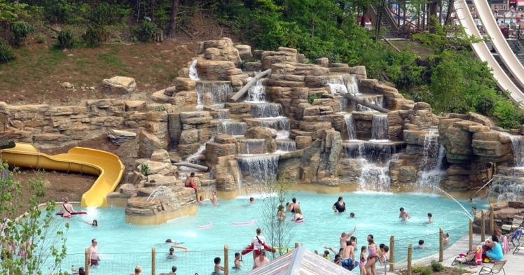 Dollywood's Splash Country, Tennessee