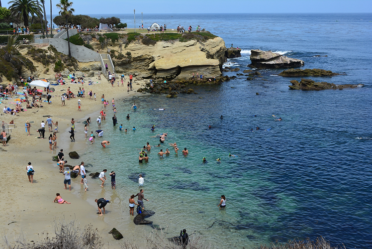 La Jolla Cove, USA