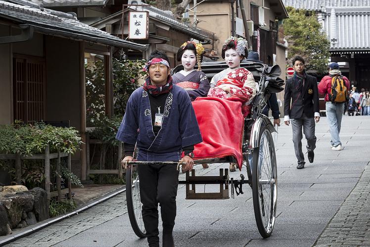 Rickshaw, Japan