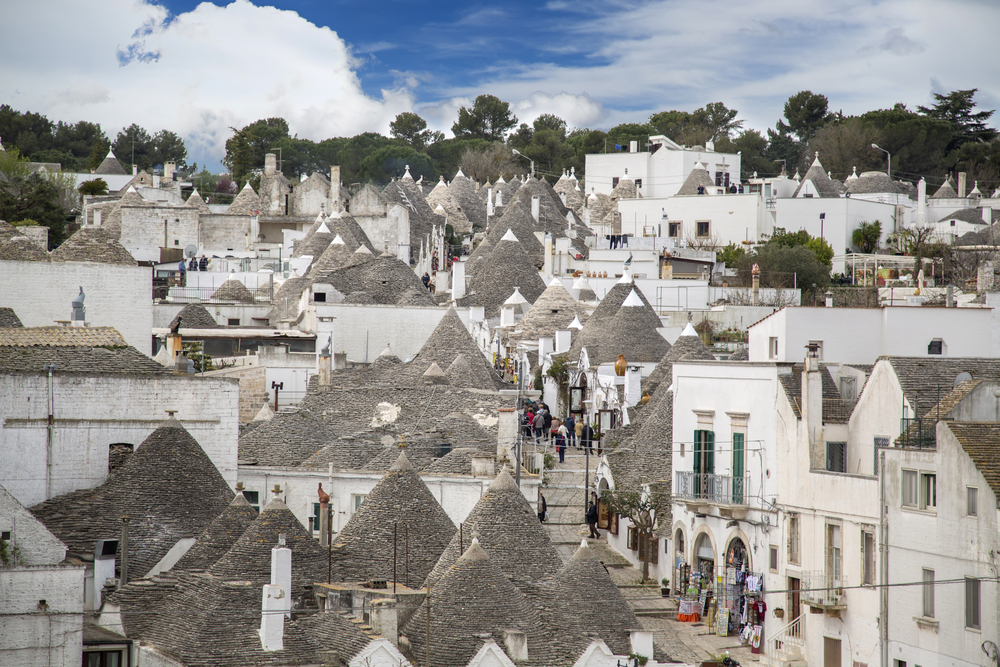 Alberobello is one of the most beautiiful small towns in the world