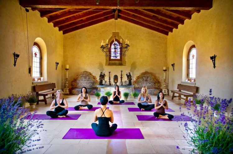 Cal-a-vie, San Diego USA yoga retreat