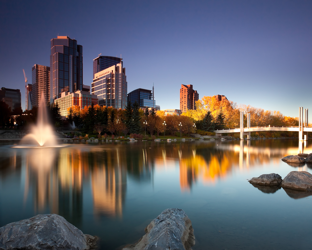 Calgary, Canada is one of the cleanest cities in the world