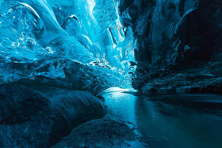 Vatnajokull Glacier Cave Iceland