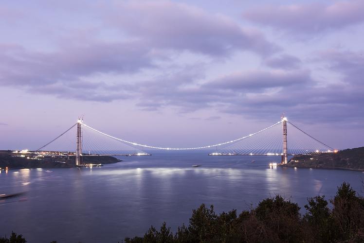 Yavuz Sultan Selim Bridge in Istanbul