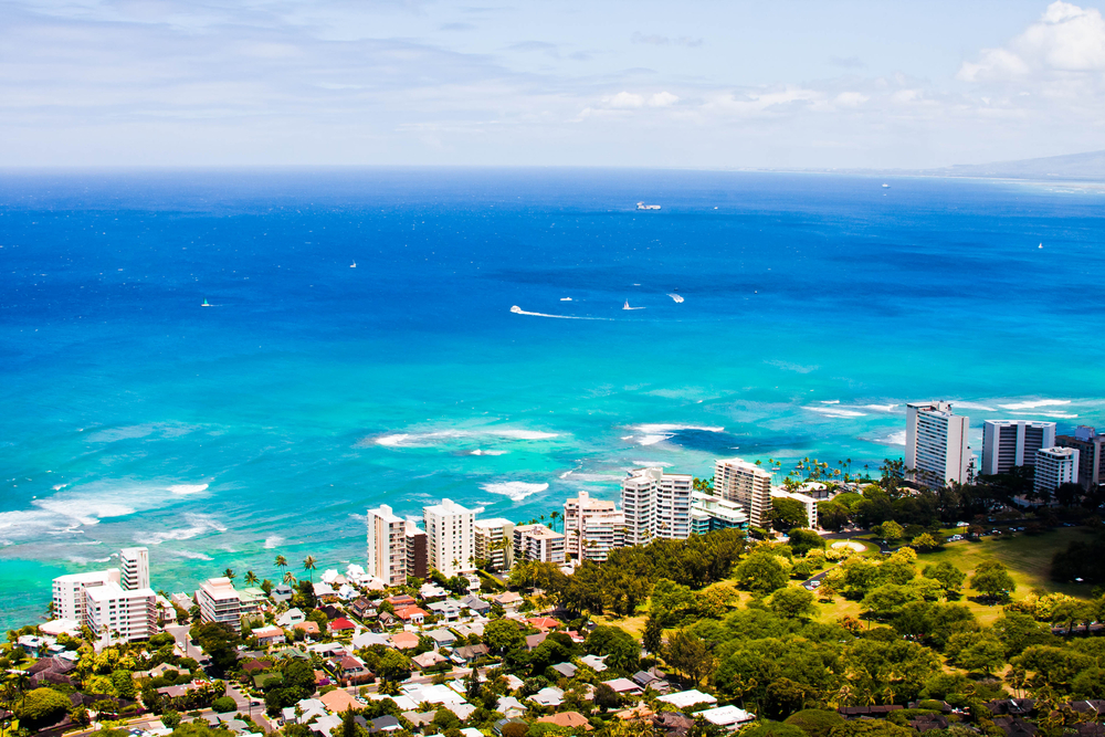 Oahu, Hawaii is one of The Best Scuba Diving Spots In The US