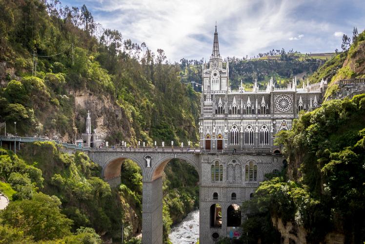 Colombia-Santuario De Las Lajas