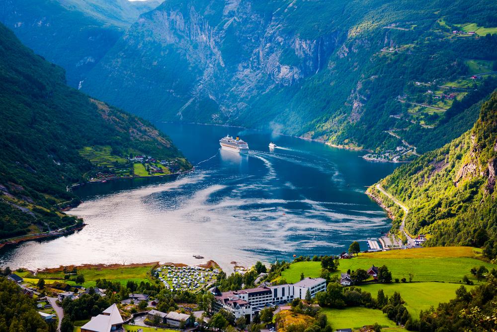 #1 Geiranger Fjord, Norway