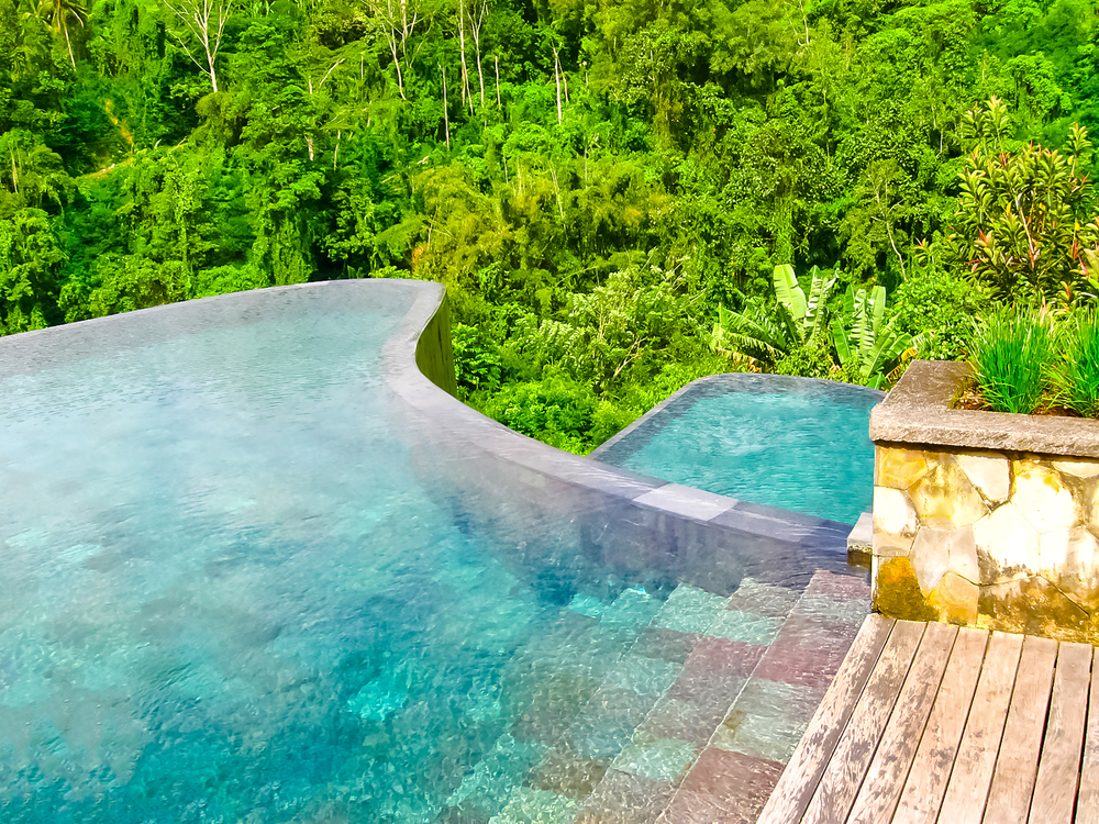 To infinity and beyond 8 of the best places to swim in for Hanging garden pool ubud
