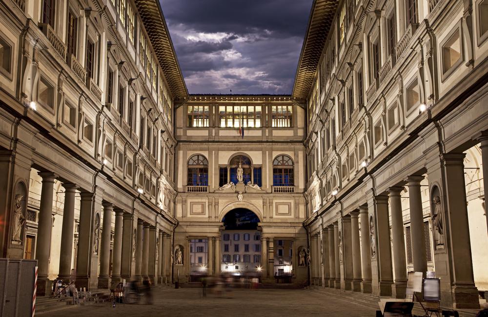 #3 Uffizi Gallery, Florence