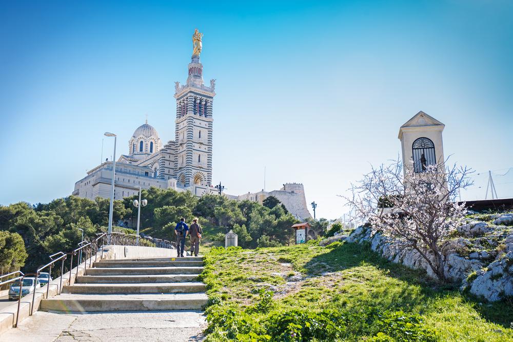 #4 Basilica of Notre Dame de la Garde, Marseilles, France