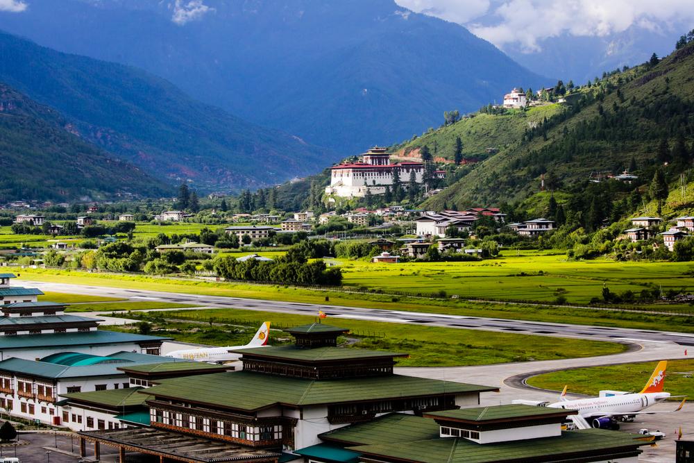 #6 Paro Airport, Bhutan