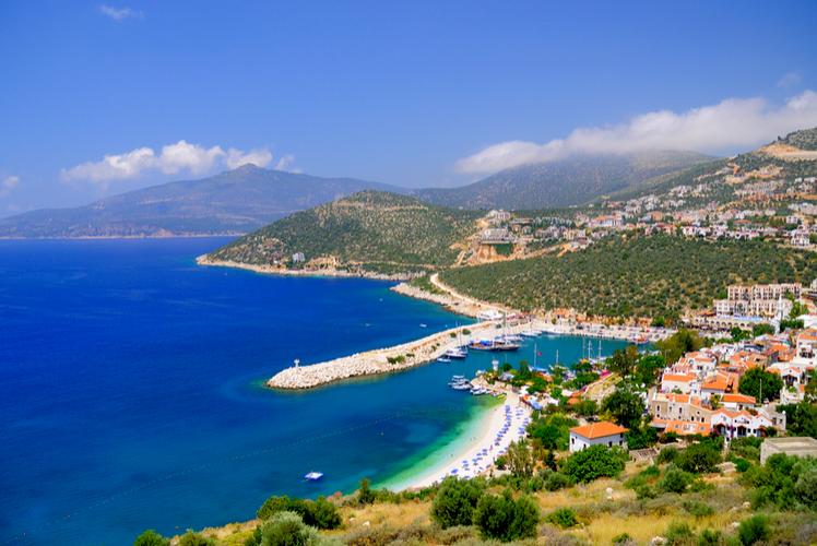 Kalkan bay-Turkey
