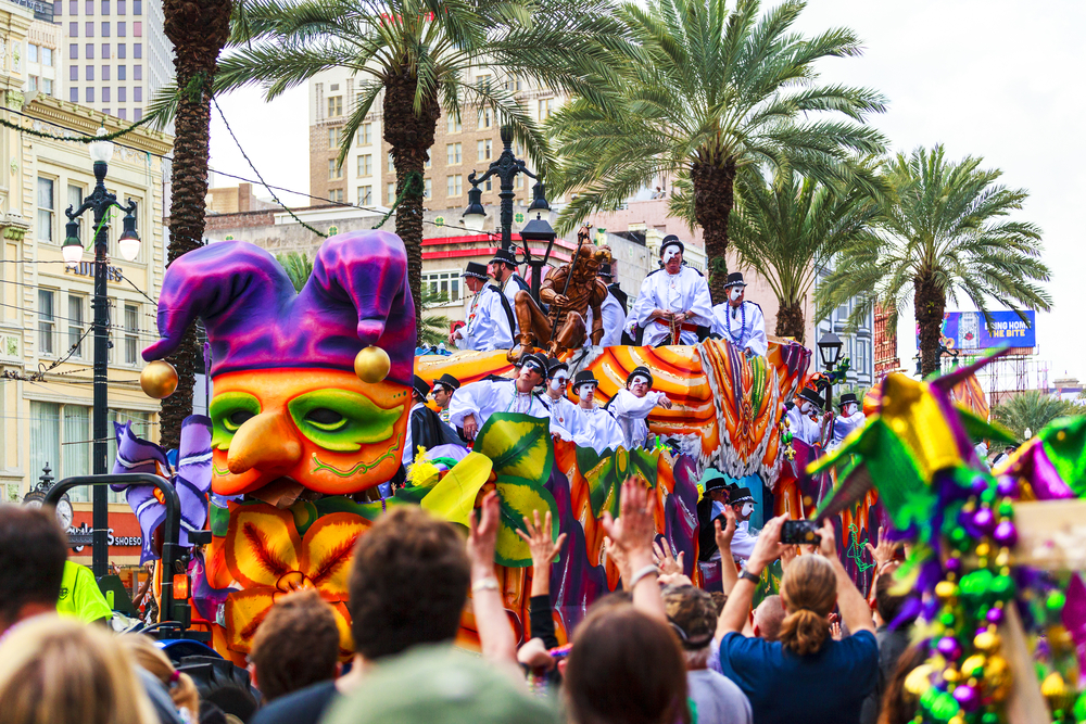 #1 New Orleans Mardi Gras