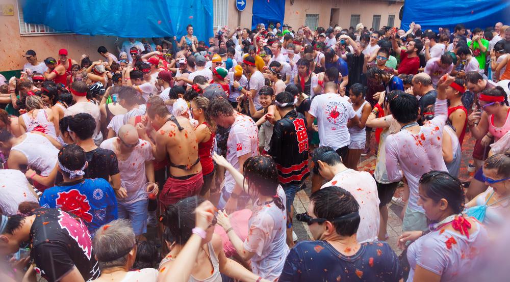 #5 La Tomatina Festival