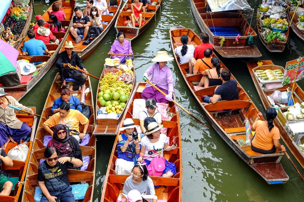#7 Damnoen Saduak Floating Market