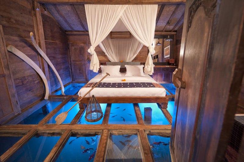 #12 The Glass Floor House, Bali
