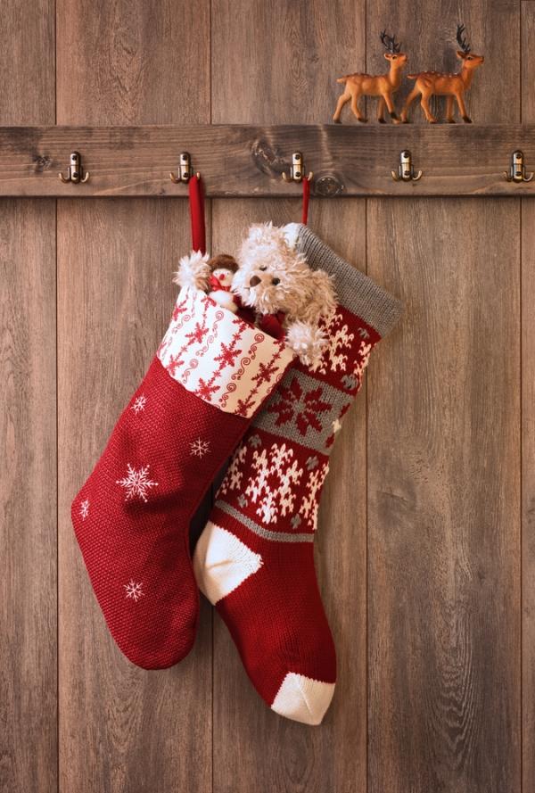 10 Creative Ways To Hang Your Stockings This Christmas
