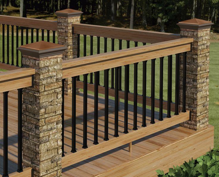 10 Stunning Deck Railing Designs - Reliable Remodeler