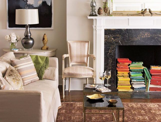 45 Fireplace Decoration Ideas So Can You The Creative: 11 Fantastic Ideas For Decorating An Unused Fireplace